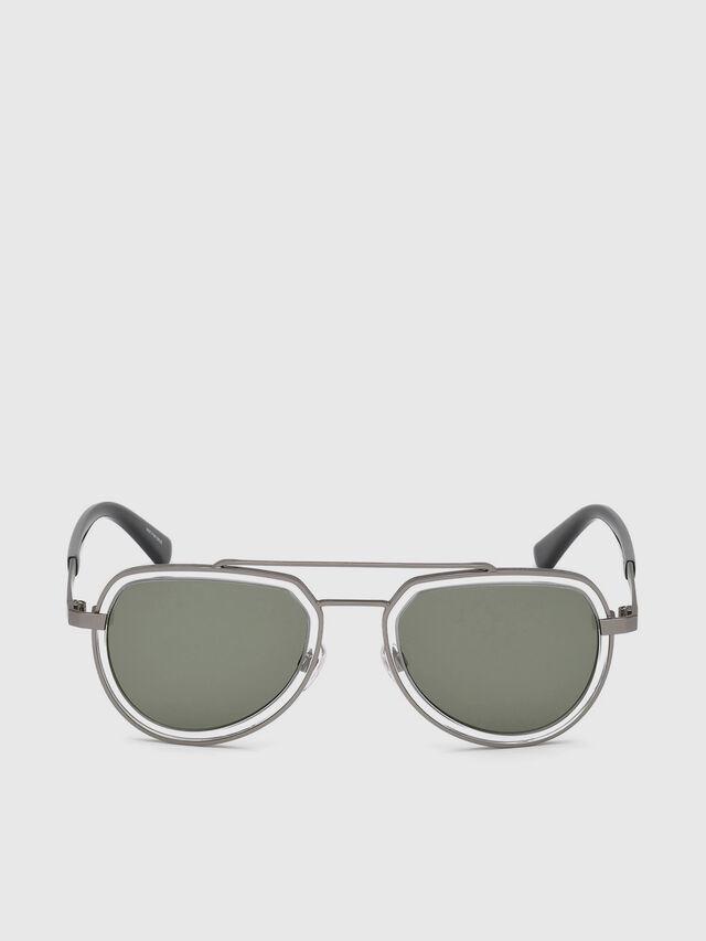 Diesel - DL0266, Negro/Gris - Gafas de sol - Image 1