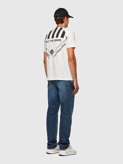 Diesel - T-JUST-N40, Blanco - Camisetas - Image 8