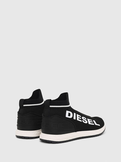 Diesel - SLIP ON 03 LOW SOCK, Negro - Calzado - Image 3