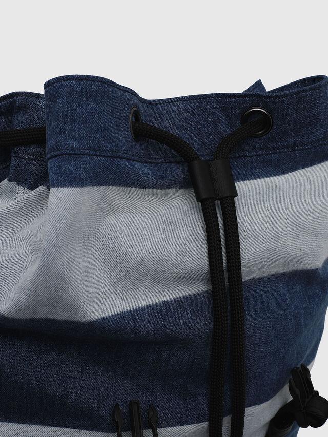 Diesel - VOLPAGO BACK, Blue Jeans - Mochilas - Image 3