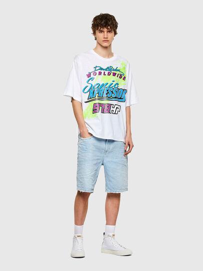 Diesel - T-DELPHONE, Blanco - Camisetas - Image 4