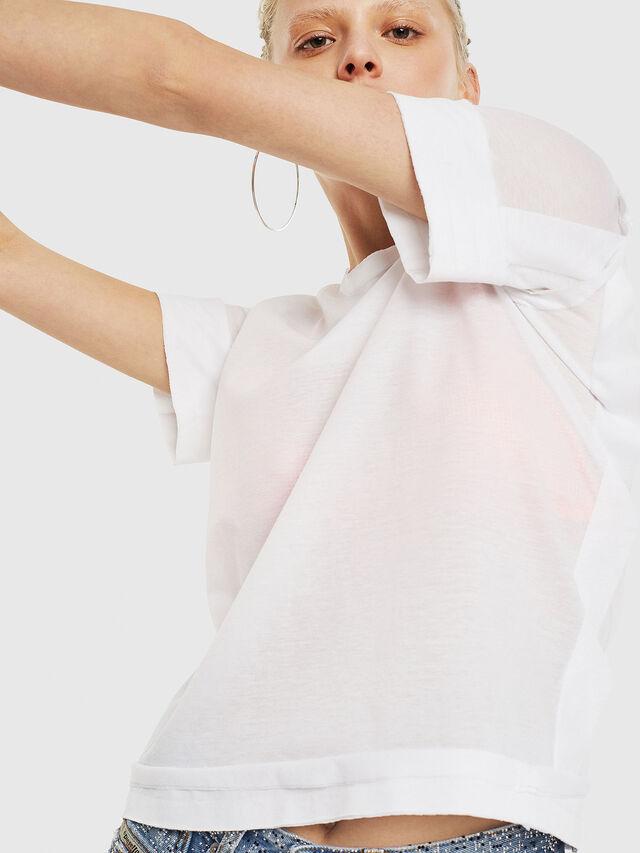 Diesel - T-ROCK-A, Blanco - Camisetas - Image 4