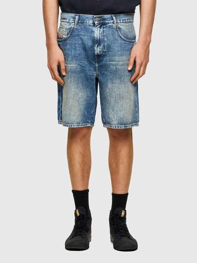 Diesel - D-STRUKT-SHORT, Azul Claro - Shorts - Image 1