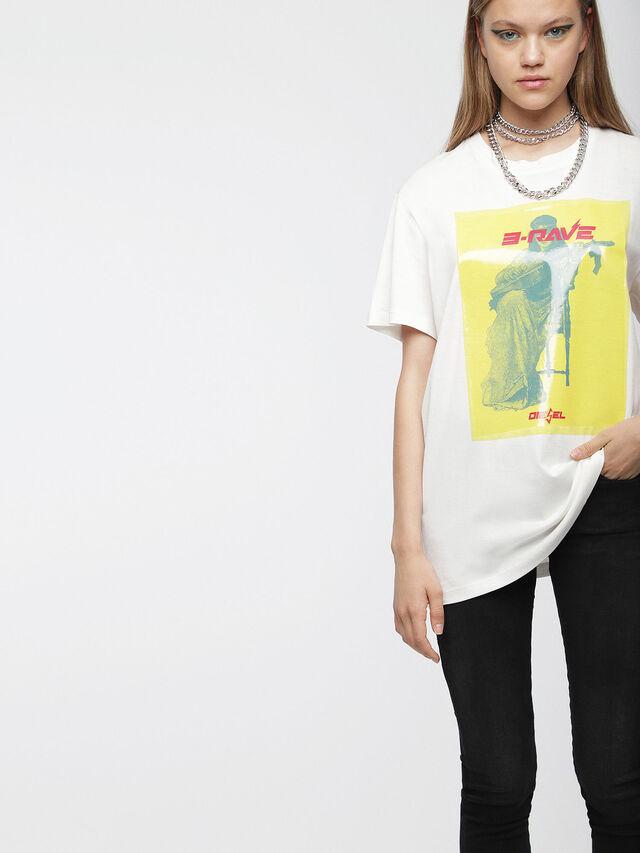 Diesel - T-DARIA-C, Blanco - Camisetas - Image 1
