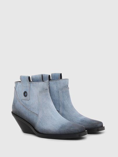 Diesel - D-GIUDECCA MAB, Blue Jeans - Botines - Image 2