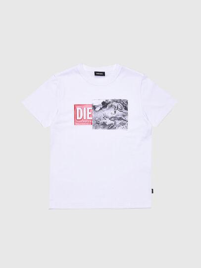 Diesel - TJUSTXH, Blanco - Camisetas y Tops - Image 1