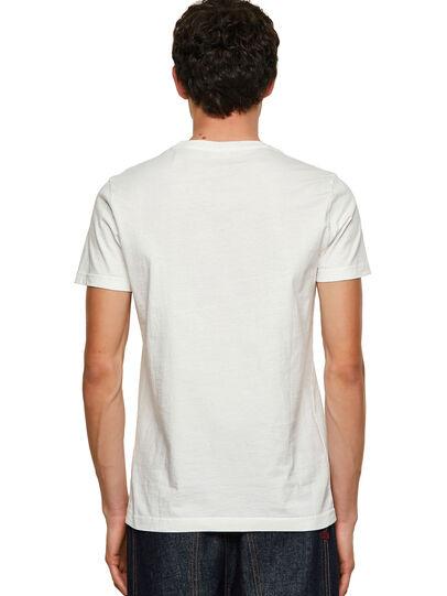 Diesel - T-WORKY-MOHI, Blanco - Camisetas - Image 2