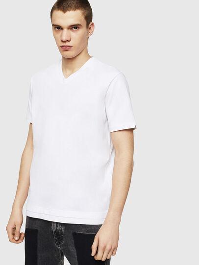 Diesel - T-CHERUBIK-NEW, Blanco - Camisetas - Image 1