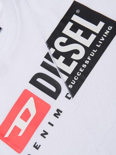 Diesel - TDIEGOCUTY, Blanco - Camisetas y Tops - Image 3
