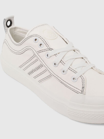 Diesel - S-ASTICO LOW LACE W, Blanco - Sneakers - Image 4