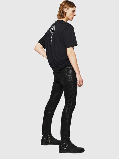Diesel - TEORIALE-X1, Negro - Camisetas - Image 5
