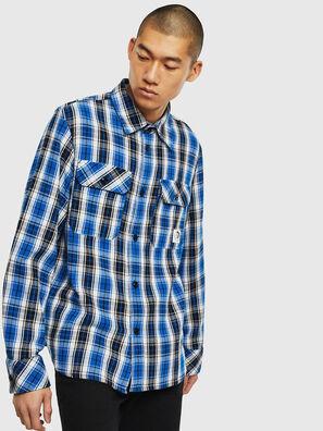 S-GERRY-CHECK, Azul/Negro - Camisas