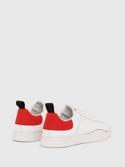 Diesel - S-CLEVER LOW, Blanco/Rojo - Sneakers - Image 3