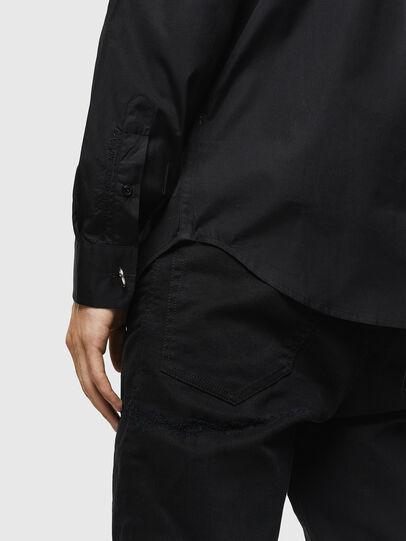 Diesel - S-AUDREY, Negro - Camisas - Image 3
