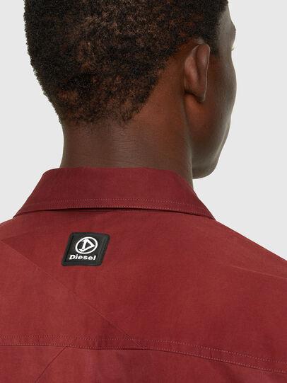 Diesel - S-GUNN-TIE, Rojo - Camisas - Image 4