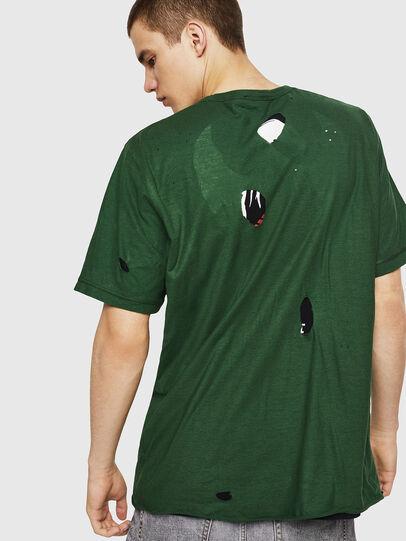 Diesel - T-JUST-LAY, Verde - Camisetas - Image 2