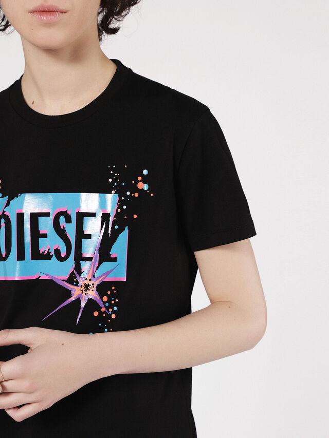 Diesel - T-EXPLO, Negro - Camisetas - Image 3
