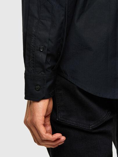 Diesel - S-OLSEN, Negro - Camisas - Image 4