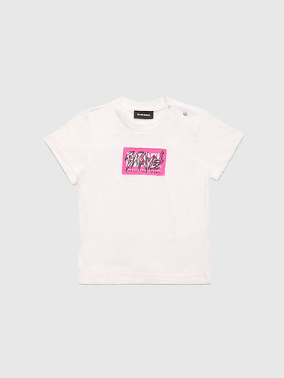 Diesel - TJUSTX62B, Blanco - Camisetas y Tops - Image 1