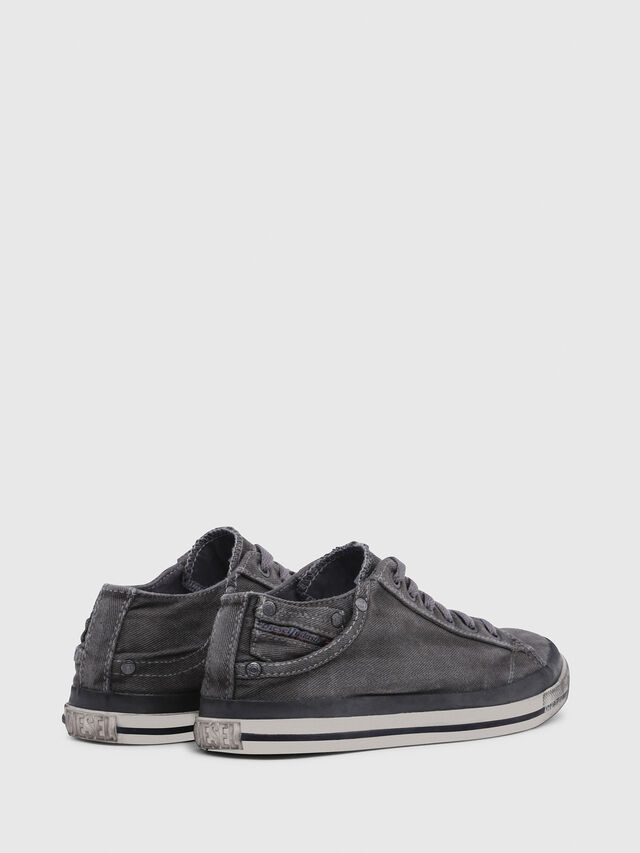 Diesel - EXPOSURE IV LOW  W, Gris Metal - Sneakers - Image 3