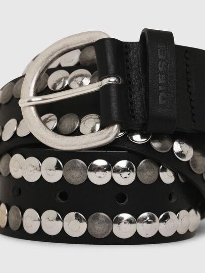Diesel - B-MEOLO, Negro - Cinturones - Image 2