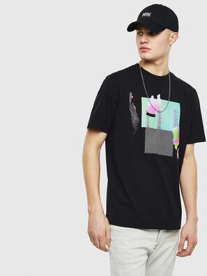 T-JUST-T25, Negro - Camisetas
