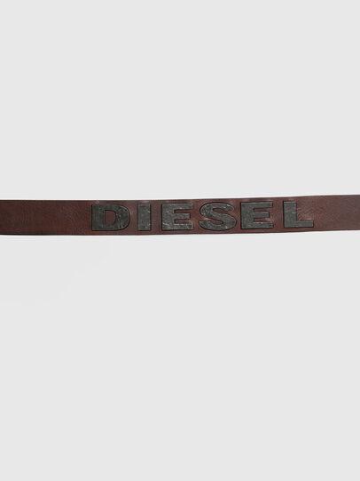 Diesel - B-BOLD, Marrón - Cinturones - Image 4