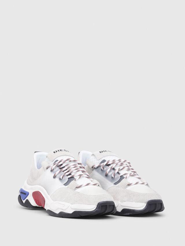 Diesel - S-KIPPER LOW LACE, Blanco - Sneakers - Image 2