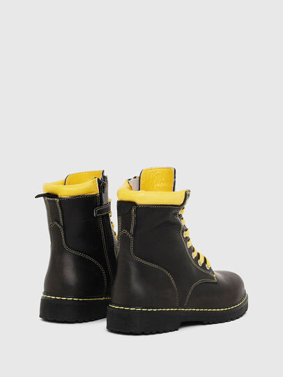 Diesel - HB LACE UP 04 CH, Negro - Calzado - Image 3