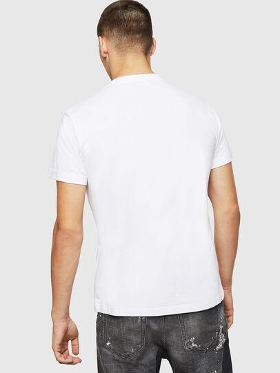 Diesel - T-DIEGO-BX2, Blanco - Camisetas - Image 2