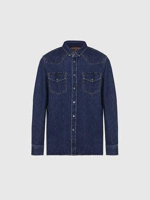 D-EAST-P, Azul Oscuro - Camisas de Denim