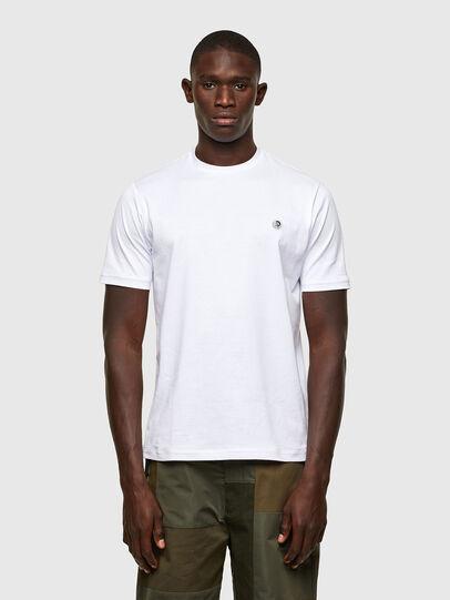 Diesel - T-JUSTY, Blanco - Camisetas - Image 1