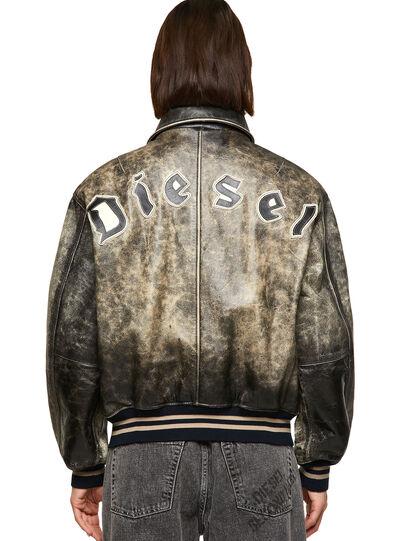 Diesel - DxD-2, Negro - Chaquetas de piel - Image 4