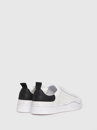 Diesel - S-CLEVER LOW, Blanco/Negro - Sneakers - Image 3