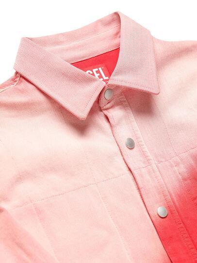 Diesel - GR02-B301, Rojo/Blanco - Camisas de Denim - Image 3