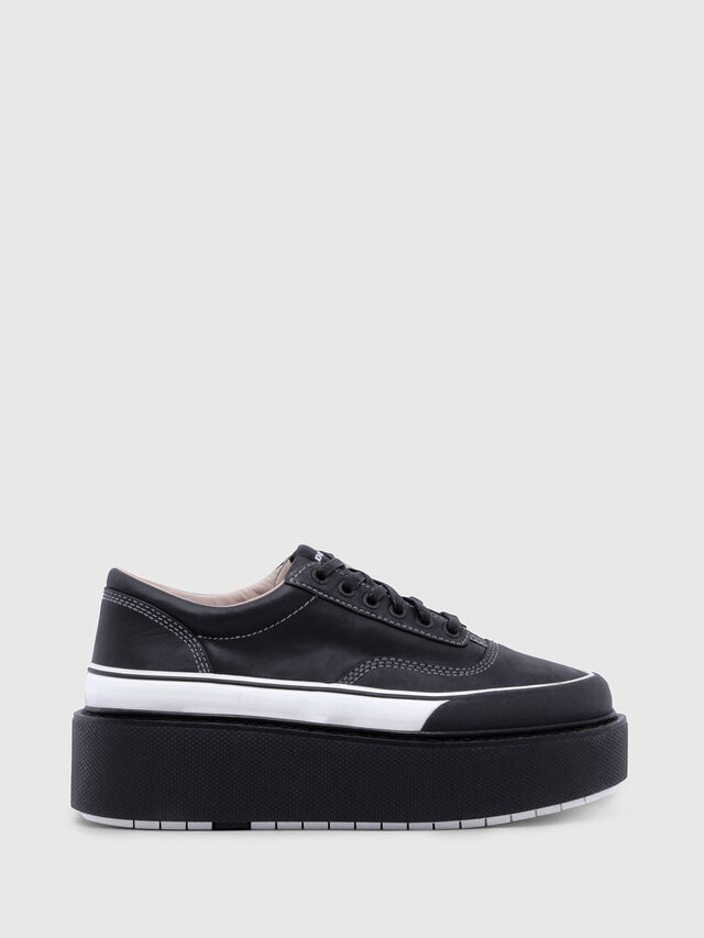 Diesel - H-SCIROCCO LOW, Negro/Blanco - Sneakers - Image 1
