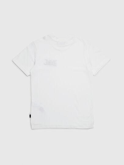 Diesel - TJUSTXMAS, Blanco - Camisetas y Tops - Image 2