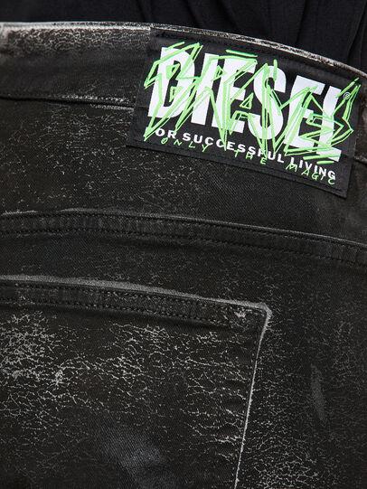 Diesel - Fayza 009DL, Negro/Gris oscuro - Vaqueros - Image 4
