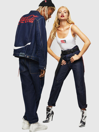 Diesel - CC-D-FRANK, Azul Oscuro - Pantalones - Image 8