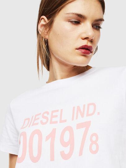 Diesel - T-SILY-001978, Blanco - Camisetas - Image 3