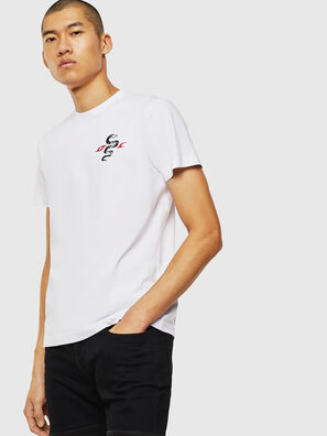 T-DIEGO-J16, Blanco - Camisetas