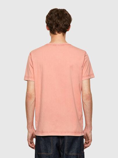 Diesel - T-WORKY-MOHI-B1, Rosa - Camisetas - Image 2
