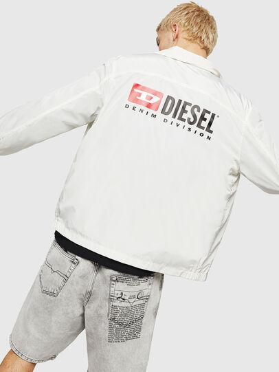 Diesel - J-ROMAN-P, Blanco - Chaquetas - Image 4