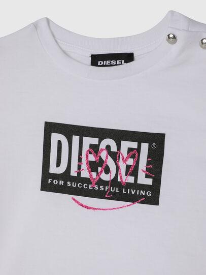 Diesel - TRIDGEB, Blanco - Camisetas y Tops - Image 3