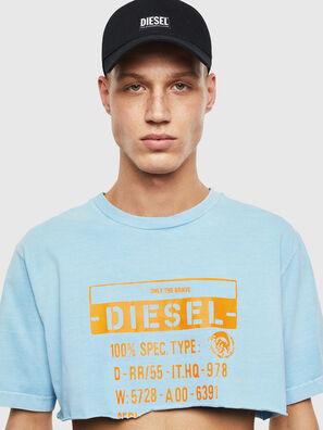 T-CROPPY, Celeste - Camisetas