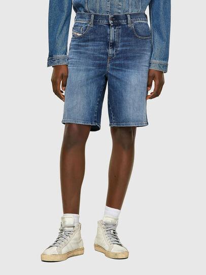 Diesel - D-STRUKT-SHORT, Azul medio - Shorts - Image 1
