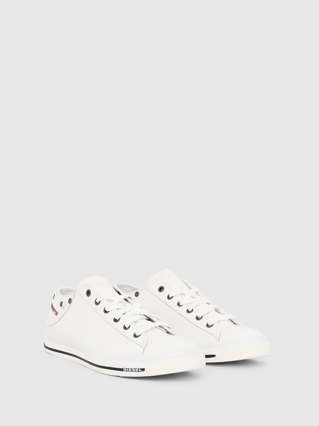 Diesel - EXPOSURE LOW I, Blanco - Sneakers - Image 2