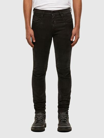 Diesel - D-Strukt JoggJeans 009GH, Negro/Gris oscuro - Vaqueros - Image 1