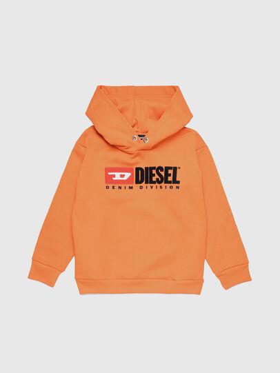 Diesel - SDIVISION OVER, Naranja - Sudaderas - Image 1