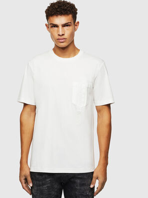 T-JUST-POCKET-J1, Blanco - Camisetas